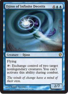 Commander 2013: Djinn of Infinite Deceits