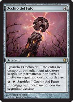 Commander 2013: Occhio del Fato