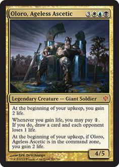 Commander 2013: Oloro, Ageless Ascetic