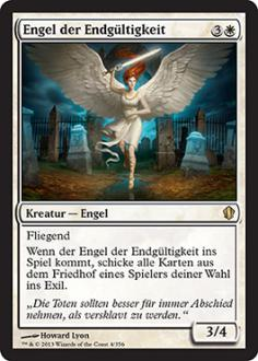 Commander 2013: Engel der Endg�ltigkeit