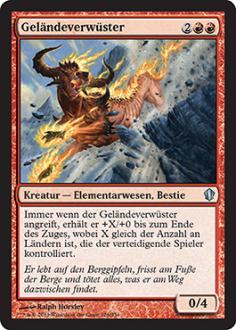 Commander 2013: Gel�ndeverw�ster