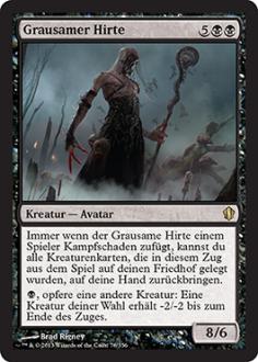 Commander 2013: Grausamer Hirte