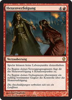 Commander 2013: Hexenverfolgung
