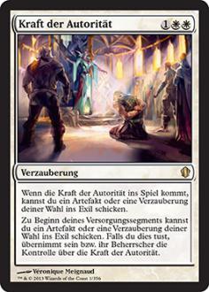 Commander 2013: Kraft der Autorit�t