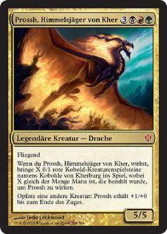 Commander 2013: Prossh, Himmelsj�ger von Kher