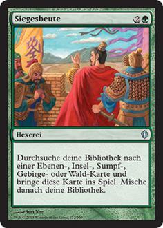 Commander 2013: Siegesbeute