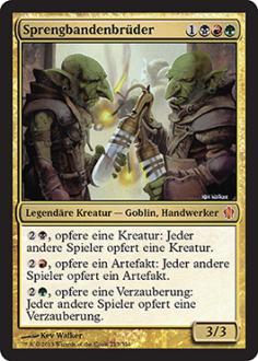 Commander 2013: Sprengbandenbr�der