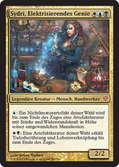 Commander 2013: Sydri, Elektrisierendes Genie