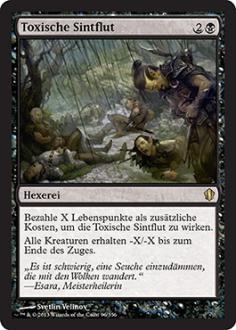 Commander 2013: Toxische Sintflut