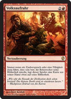 Commander 2013: Volksaufruhr