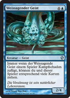 Commander 2013: Weissagender Geist
