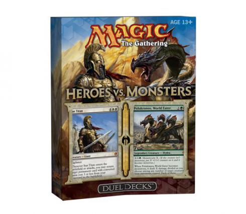 Duel Decks: Heroes vs. Monsters Box