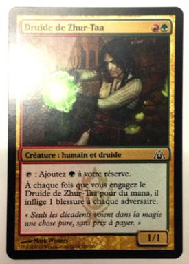 Carte magic Druide de Zhur-Taa Zhur-Taa Druid x 4 !!!