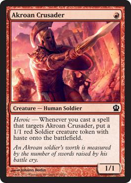 Theros Akroan Crusader