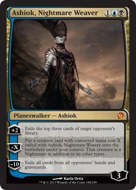 Theros Ashiok, Nightmare Weaver