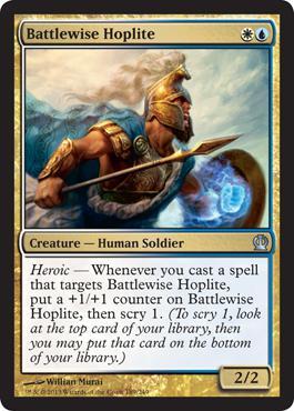 Theros Battlewise Hoplite