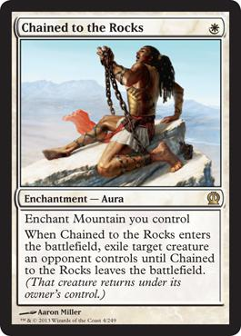 Theros Chained to the Rocks