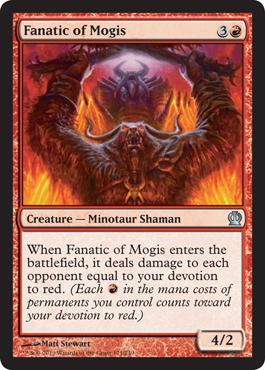 Theros Fanatic of Mogis