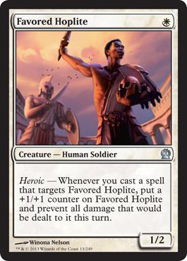 Theros Favored Hoplite