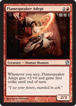Theros Flamespeaker Adept
