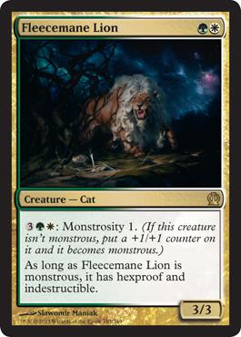 Theros Fleecemane Lion