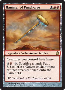 Theros Hammer of Purphoros
