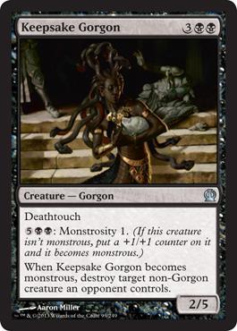 Theros Keepsake Gorgon