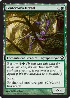 Theros Leafcrown Dryad