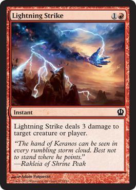 Theros Lightning Strike