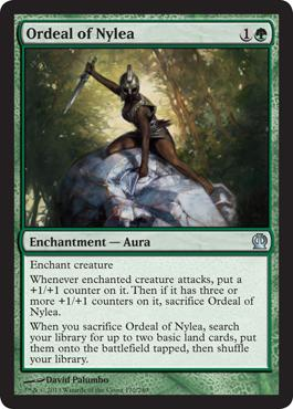 Theros Ordeal of Nylea