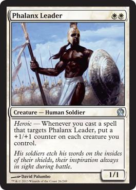 Theros Phalanx Leader