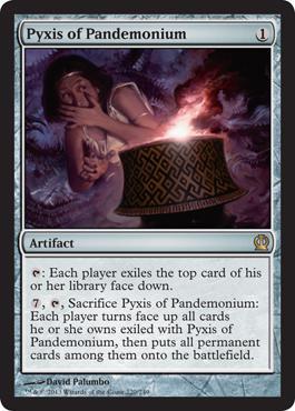 Theros Pyxis of Pandemonium