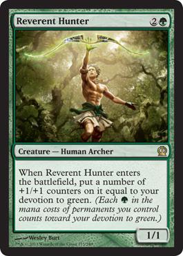 Theros Reverent Hunter