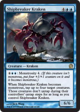 Theros Shipbreaker Kraken