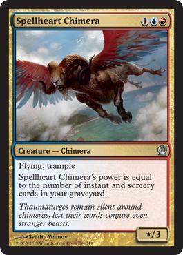 Theros Spellheart Chimera