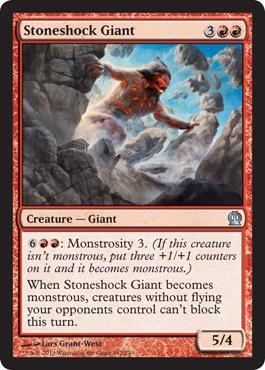 Theros Stoneshock Giant