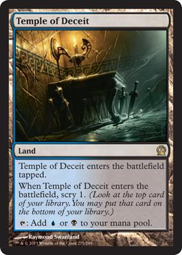Theros Temple of Deceit
