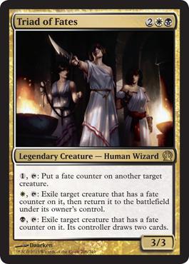 Theros Triad of Fates