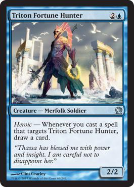 Theros Triton Fortune Hunter