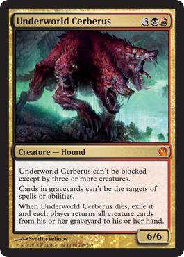 Theros Underworld Cerberus