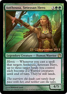 Theros Prerelease Promo Anhousa, Setessan Hero