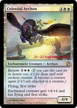 Theros Prerelease Promo Celestial Archon