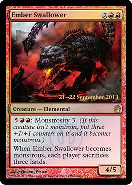 Theros Prerelease Promo Ember Swallower
