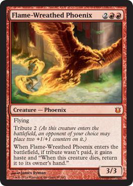 Kinder der G�tter: Flame-Wreathed Phoenix