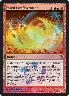 Kinder der G�tter Buy-A-Box Promo: Fated Conflagration
