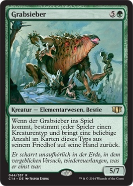 Nested Ghoul FOIL Mirrodin Besieged NM-M Black Uncommon MAGIC MTG CARD ABUGames
