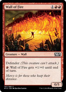 Magic 2015: Wall of Fire